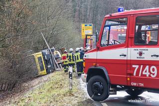 Lkw-VU B260 Schlangenbad 01.03.17