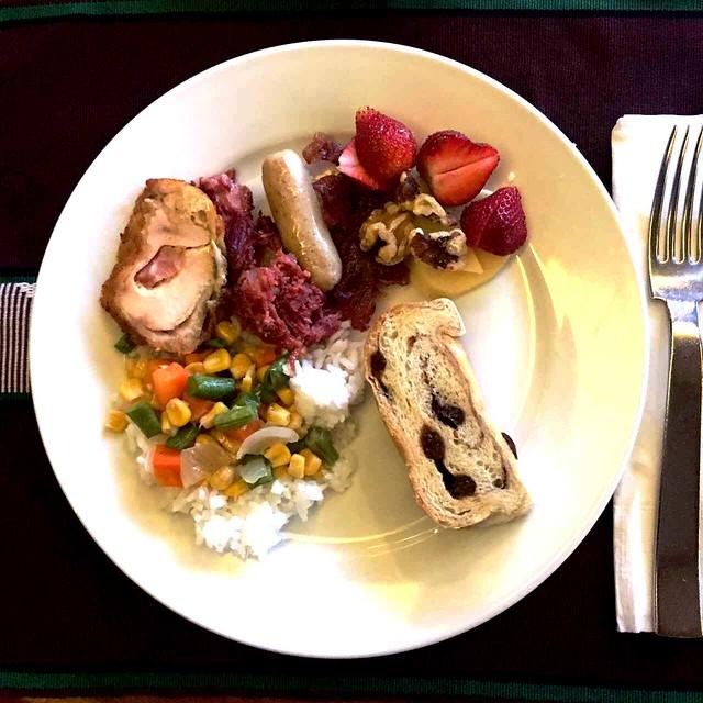 BCC breakfast plate