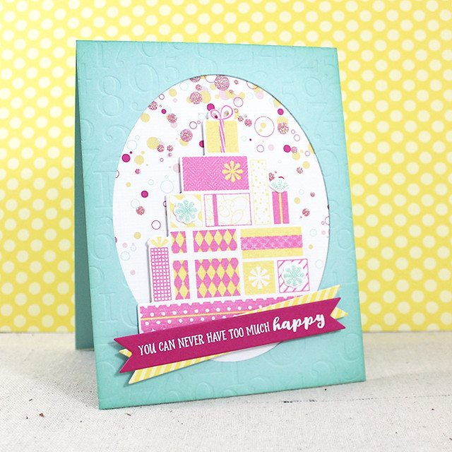 Too Much Happy Card
