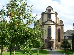 Kirchenportal im Kloster Himmerod