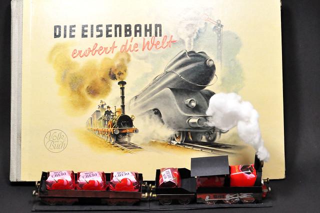 Eisenbahn Zug Bimmelbahn Mon Chéri Die Eisenbahn erobert die Welt Foto Brigitte Stolle Oktober 2015
