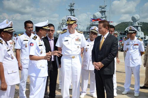 U.S. Navy and Royal Cambodian Navies Kick-off CARAT Cambodia 2015