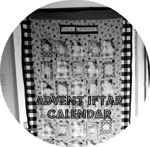 advent and iftar calendar free tutorial
