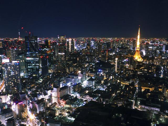 東京タワー、スカイツリー
