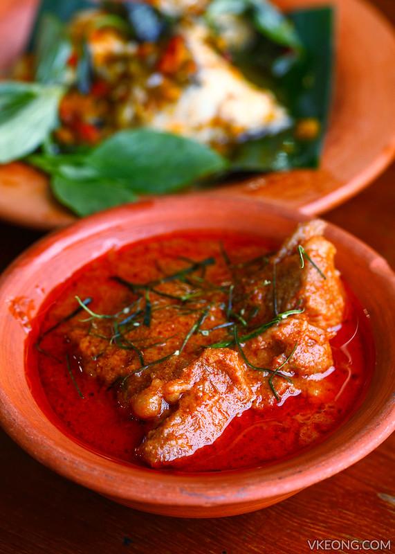 Prik Yuak Panang Curry with Pork