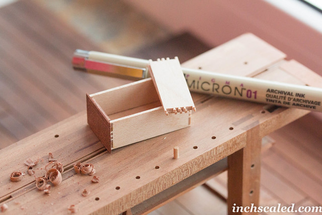 Dovetails in 1:12 scale