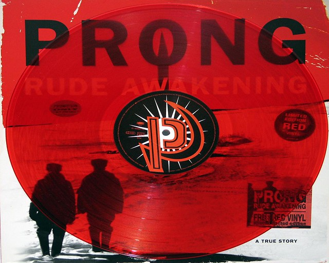 PRONG RUDE AWAKENING RED VINYL LIMITED EDITION