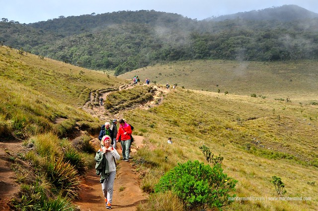 Visitors of Horton Plains National Park