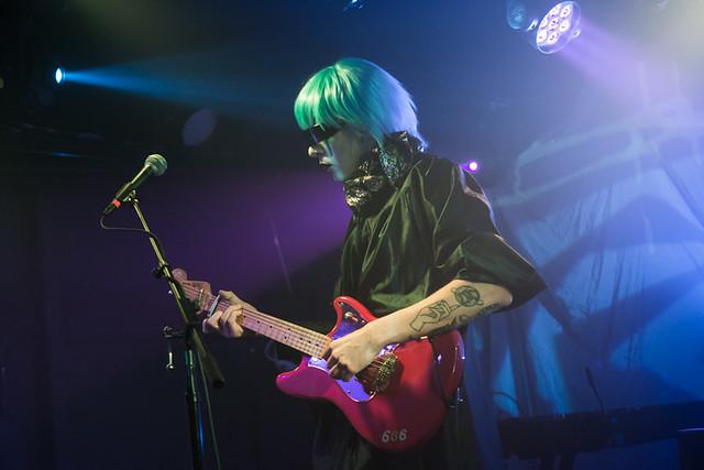 Drab Majesty @ Rock & Roll Hotel, Washington DC, 1/25/2017
