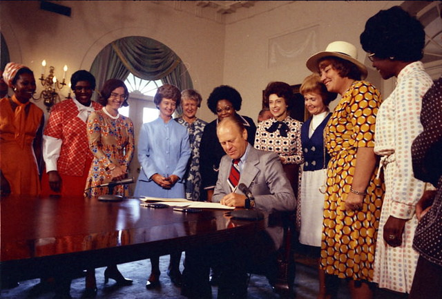 President Ford Supports the Equal Rights Amendment