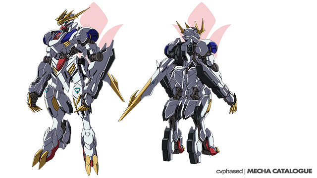 ASW-G-08 Gundam Barbatos Lupus Rex - Revealed