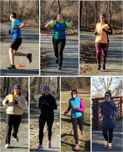First timers: (top, L to R) Danny, Tiffany, Mara; (bottom row, L to R) Clara, Lisa, Cindy, Sarah