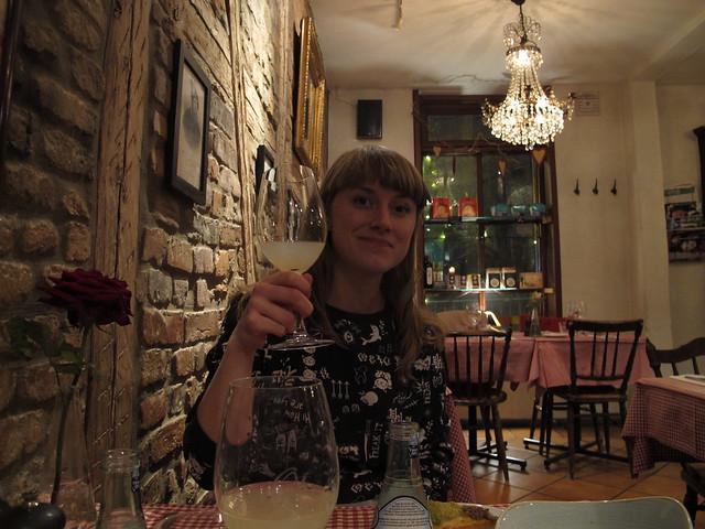 monday, my birthday, at olsons skafferi, helsingborg