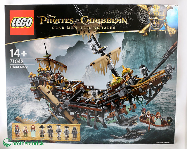 New Lego Sets From Pirates Of The Caribbean Dead Men Tell No Tales