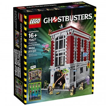 LEGO Ghostbusters Firehouse Headquarters (75827) Speed Build