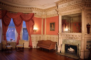 "Paine Mansion (Pi Kappa Phi Alpha Tau, ""Castle"") Parlor 