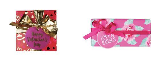Lush happy Valentines y Love Kisses