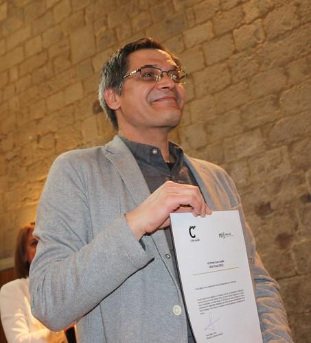 Acte de lliurament de la VII edició del Premi Cum Laude. Humanitats