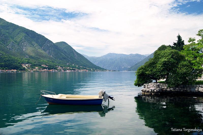 Пейзаж с лодкой из Доброты