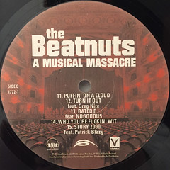 THE BEATNUTS:A MUSIC MASSACRE(LABEL SIDE-C)