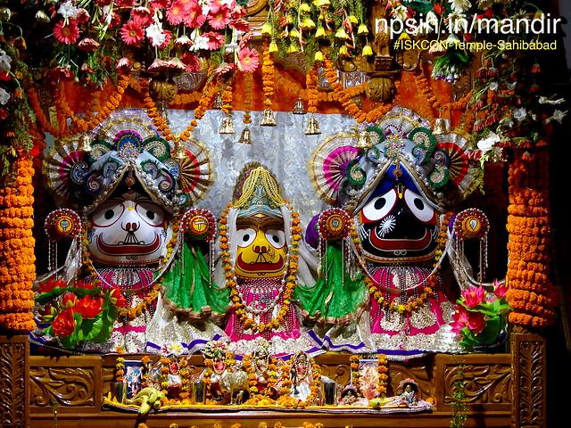 Single Darbar for Bhagwan Jagannath and Shri Radha Mohan Ji with all Gurus.