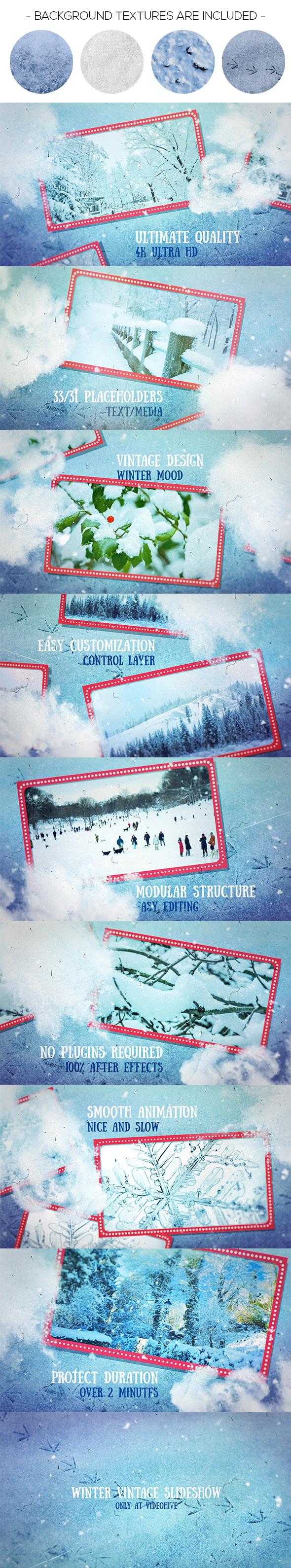 Winter Vintage Slideshow