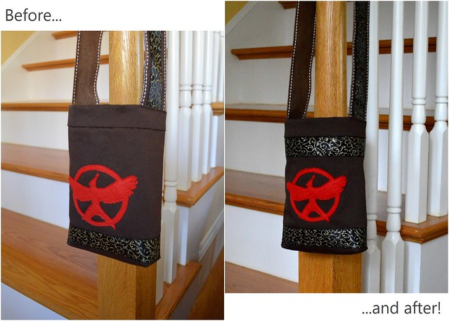 Mockingjay Bag Alterations