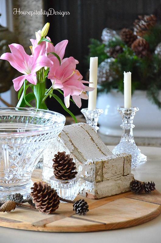 Winter Vignette-Waterford-Vintage Corbel-Housepitality Designs
