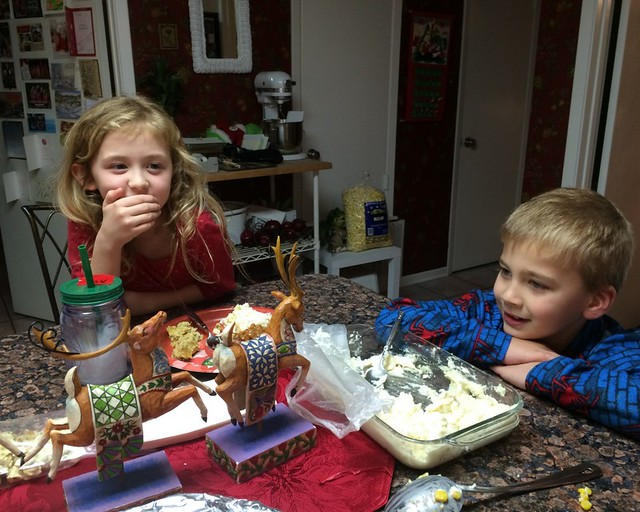 School Christmas Party's and Kiki's 201425
