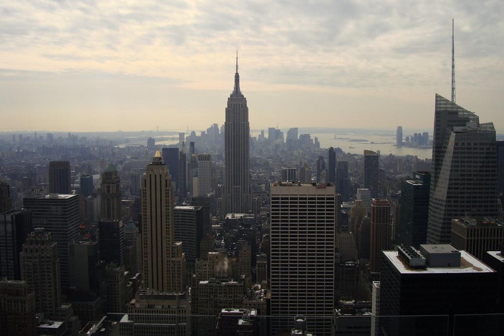 Top of the Rock, Manhattan vs Brooklyn. Top spots to visit
