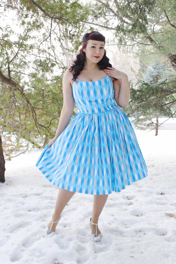 harlequin dress
