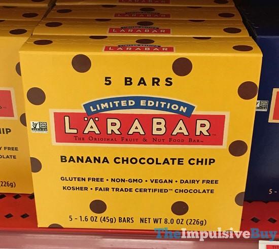 Larabar Chocolate Chip Cookie Dough Ingredients