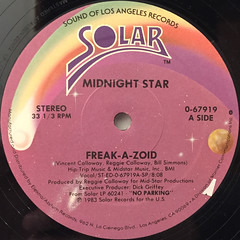 MIDNIGHT STAR:FREAK-A-ZOID(LABEL SIDE-A)