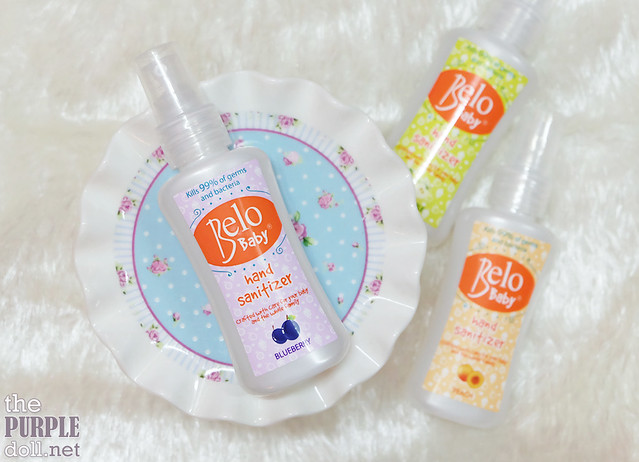 Belo Baby Hand Sanitizer Blueberry