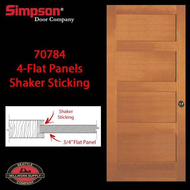 Simpson special order exterior doors an album on flickr for Special order doors