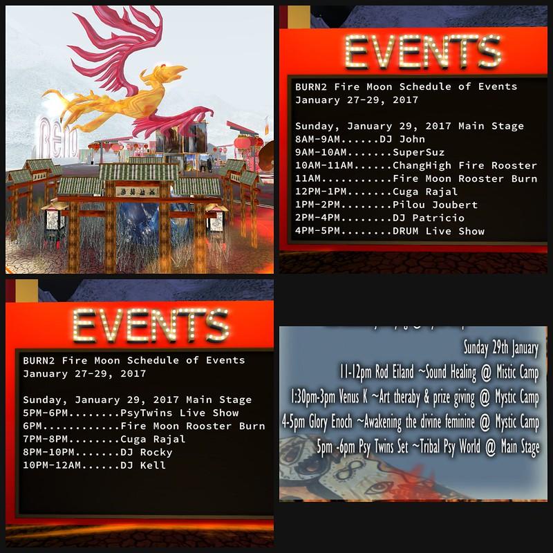 burn 2 schedule
