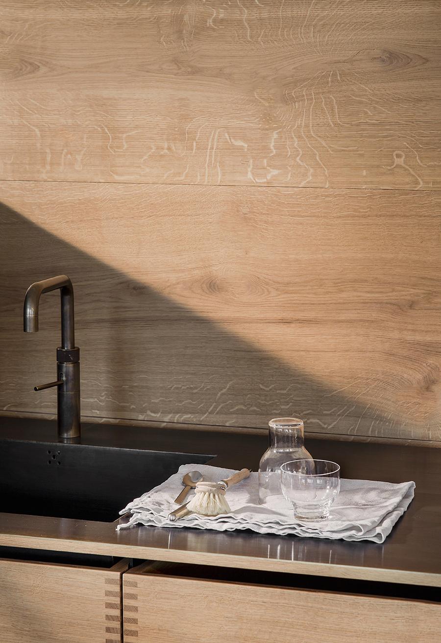 Wood on wood kitchen | AMM blog