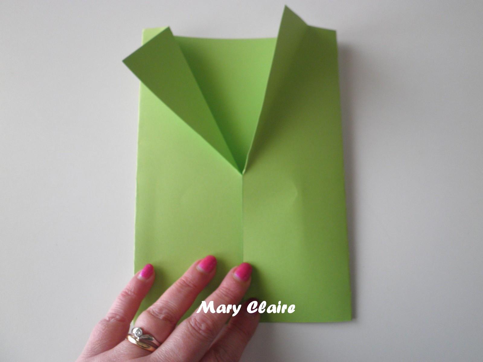 cartoncino verde x giacca
