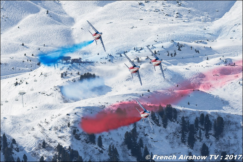 Patrouille de France Meribel Aerosnow , Meeting Aerien 2017