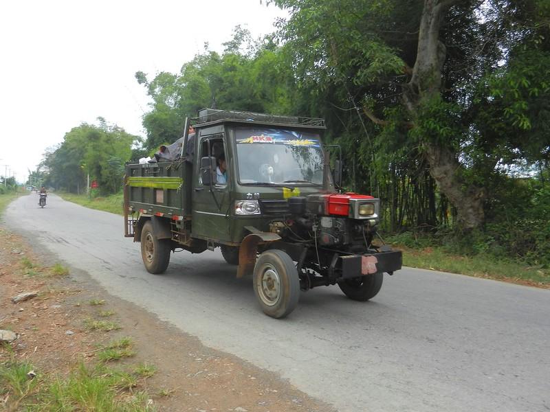 Мьянма, транспорт на дороге
