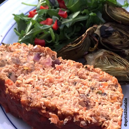 BBQ Meatloaf Quinoa
