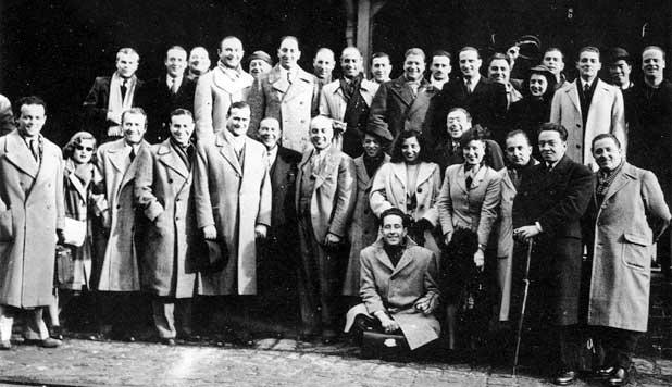 Juillet 1942 : L'arrivée à Buenos Aires