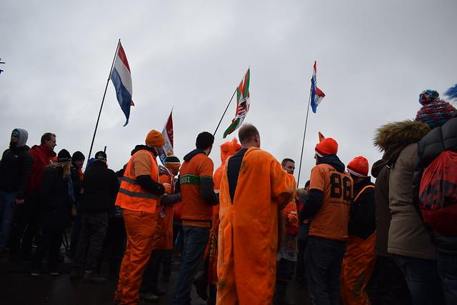 Pour le port d'amsterdam