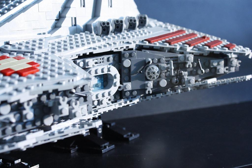 Ucs Lego Venator Class Star Destroyer After 18 Days Of Im Flickr