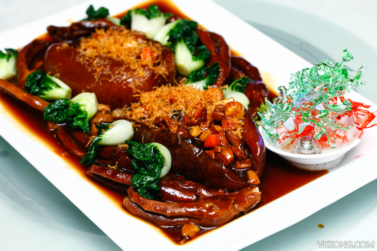 Genting Palace Stewed Sea Cucumber with Goose Feet