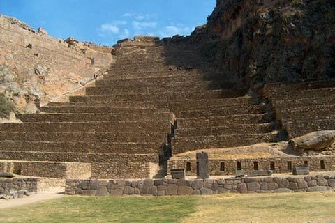 The-ruins-of-Ollantaytambo