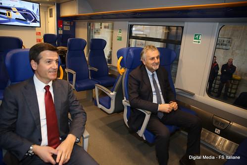 Inaugurazione nuovo treno Jazz