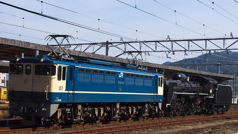 配9461レ EF65 1135 + ムドC571