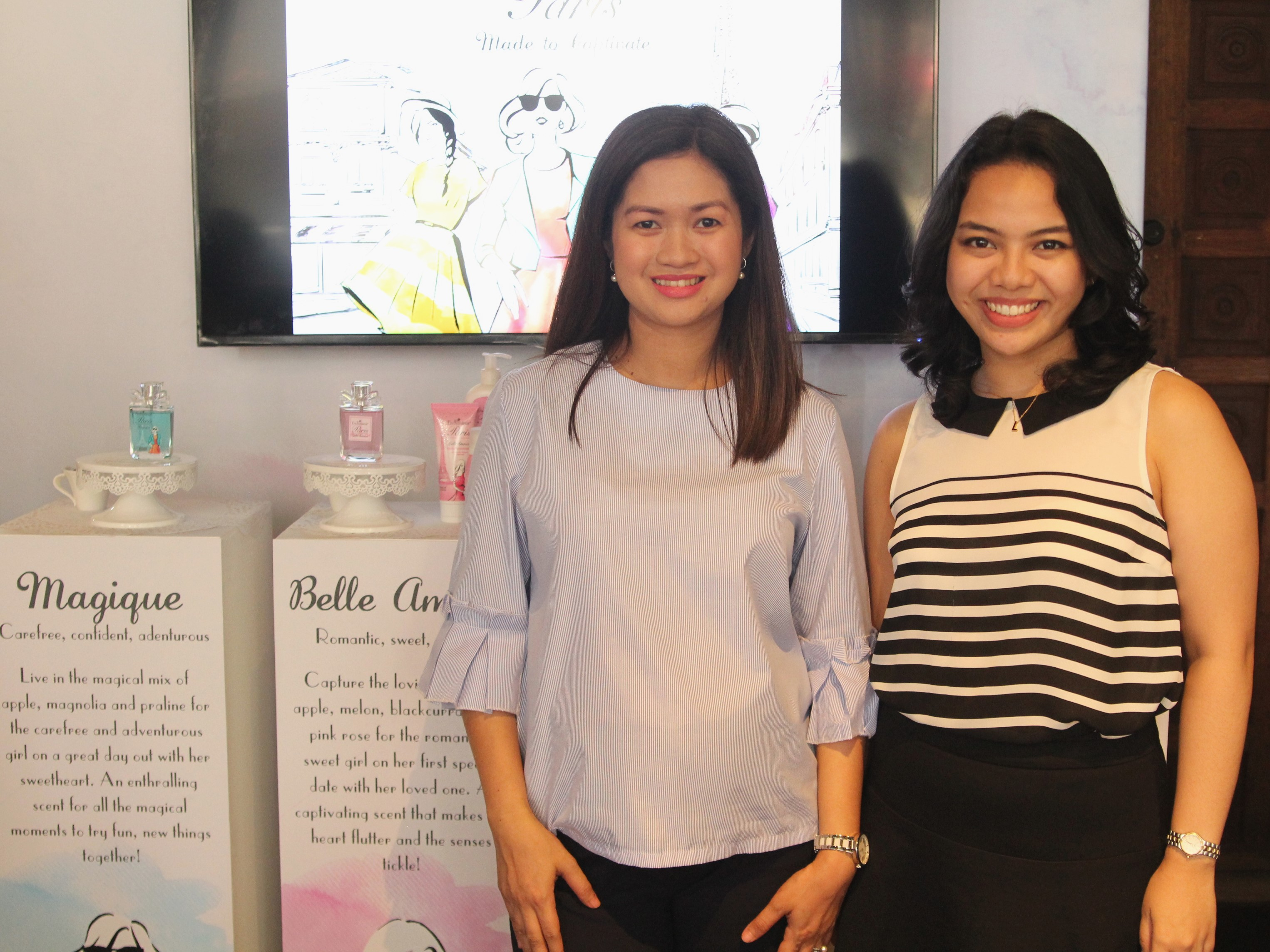 Watsons' Sharon Presbitero-Decapia and Lexie Coloma