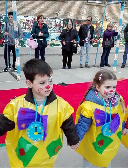 semana cultural y carnaval. 5 años